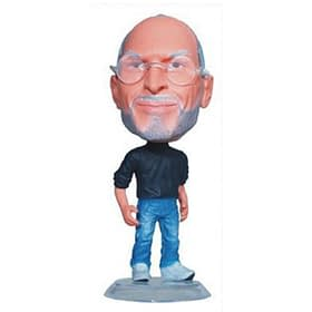 steve jobs mini figurine