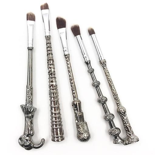 harry potter wand makeup brushes