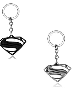 Superman emblem keyrings
