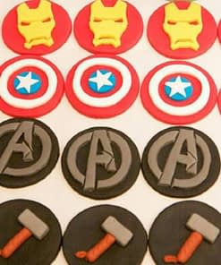 Avengers cookie cutters