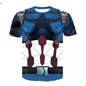 captain america shirt from avengers infinity war
