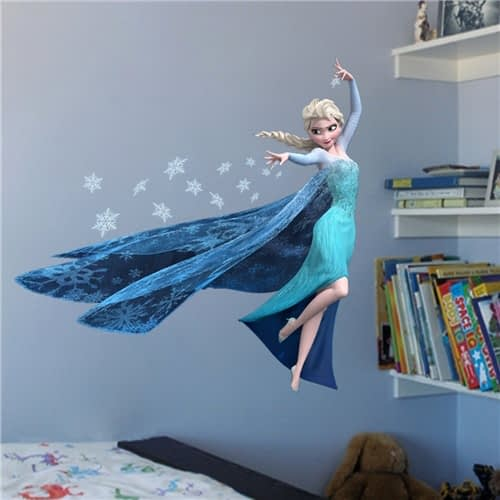 frozen queen elsa wall sticker