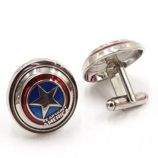 captain america cufflinks