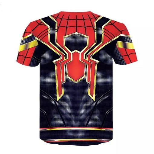 spider-man iron spider shirt from avengers infinity war